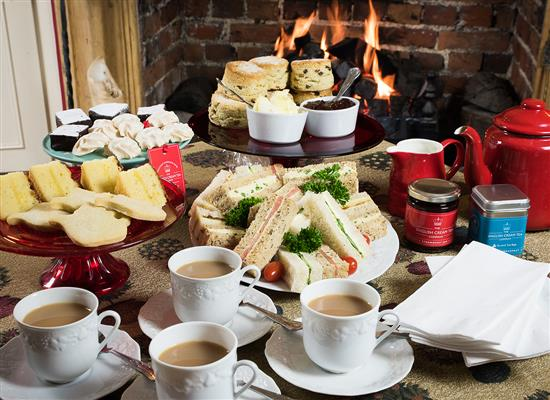 Picture of Afternoon Cream Tea Hamper for Four or more