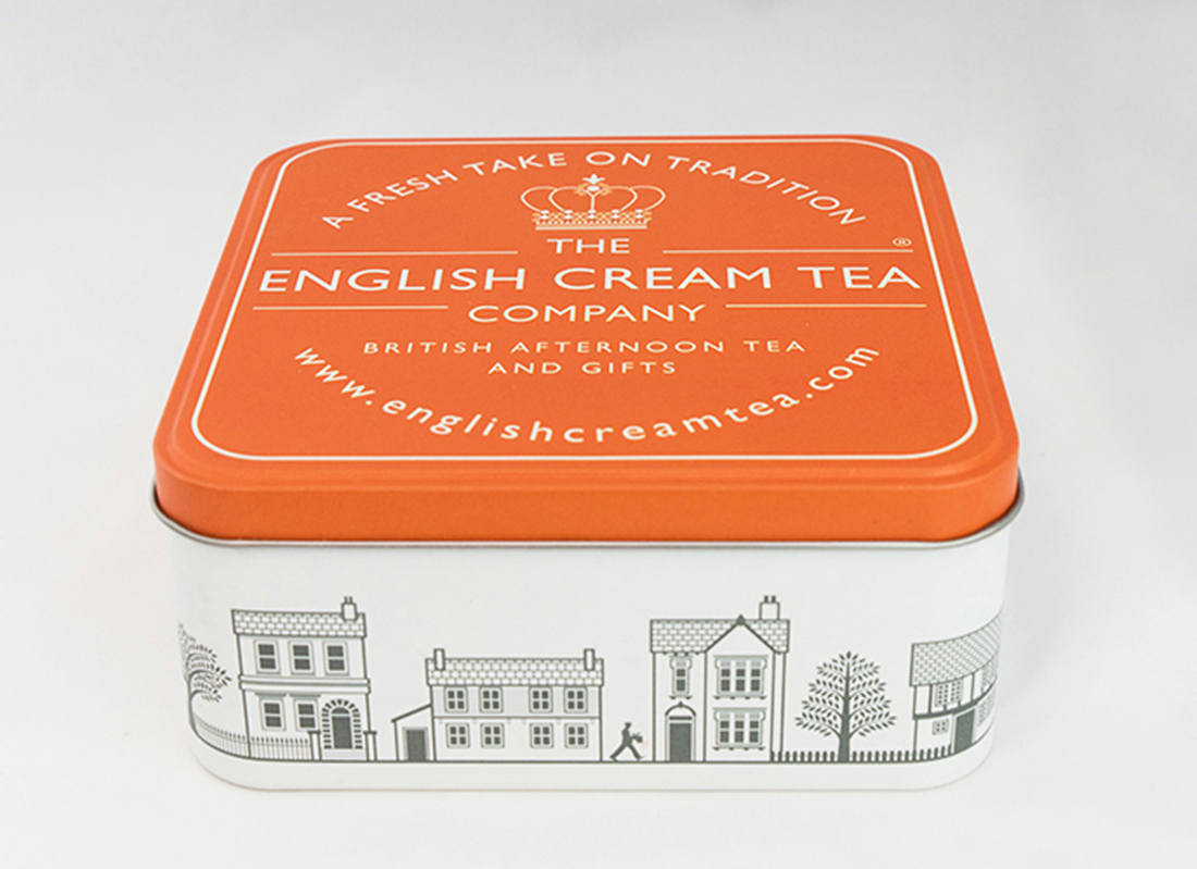 Picture of Orange Gift Tin
