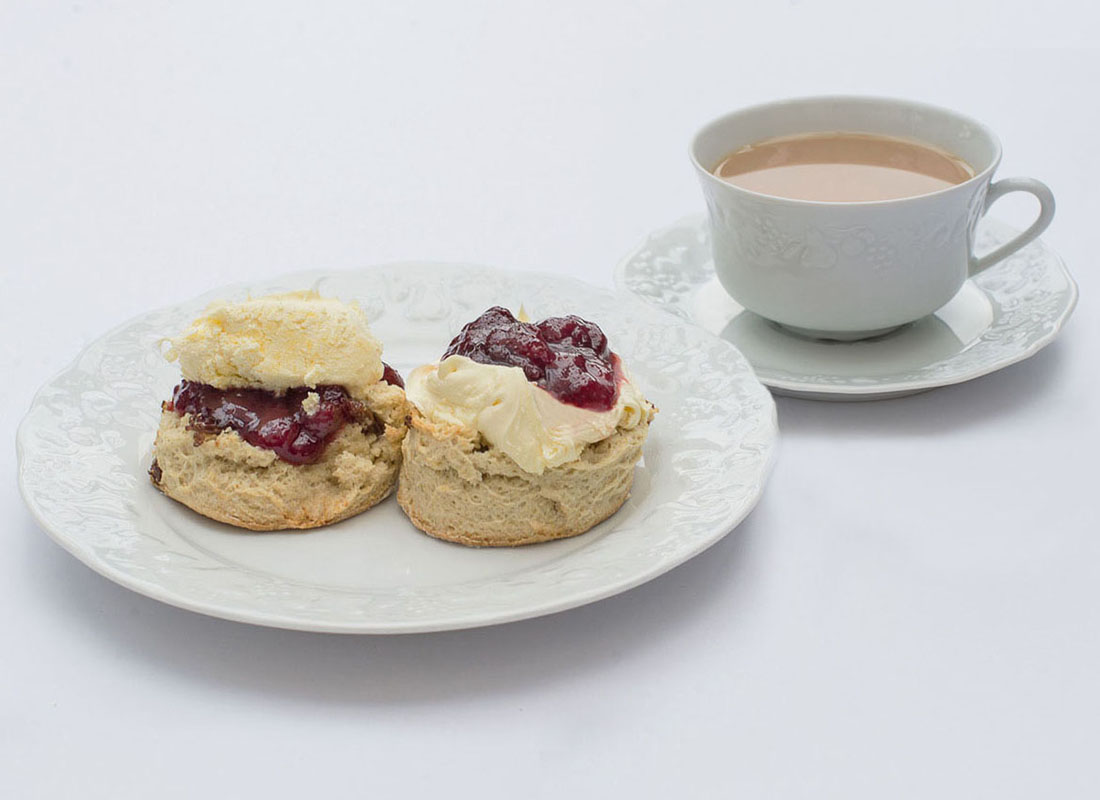 Picture for blog post Scone or Scon? Cream or Jam first