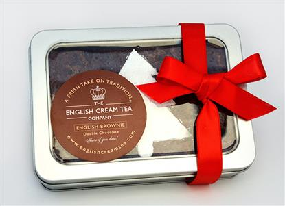 Picture of Festive Brownie Tin