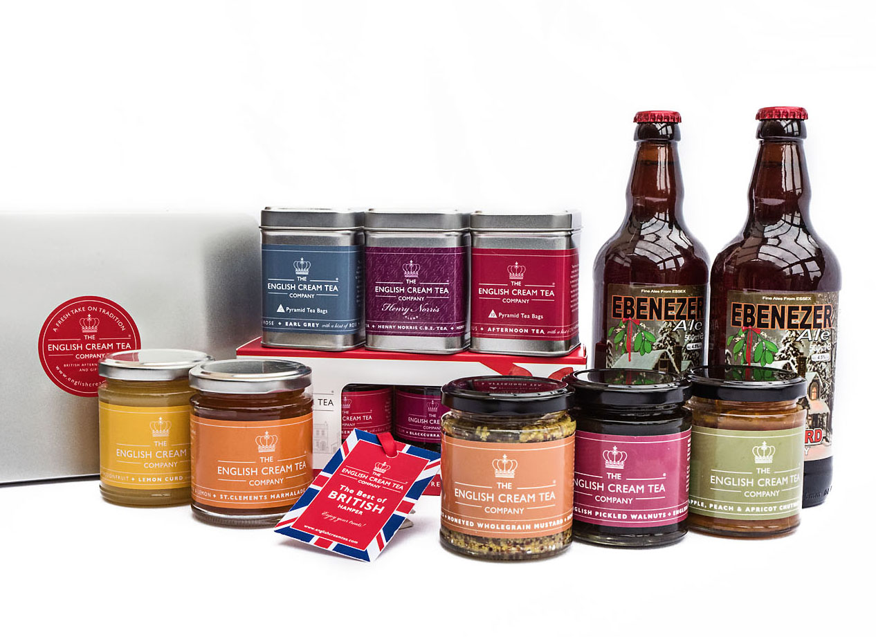 British hamper delivered all over UK by The English Cream Tea Company